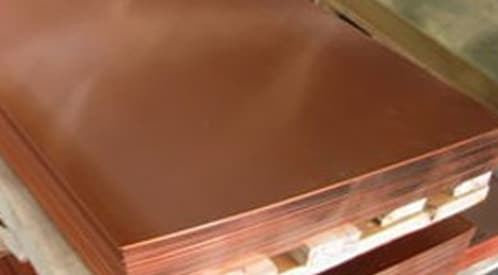Copper Nickel 70/30 Sheets & Plates