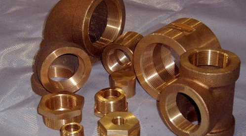 Copper Nickel  Forged Threaded Fittings