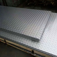 Stainless Steel 310 / 310S Chequered Plates